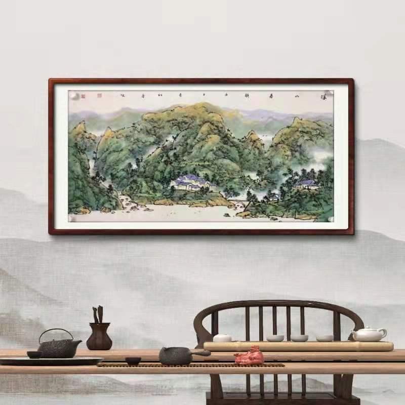棗莊買風水山水字畫平臺_出售出色的家居裝飾畫