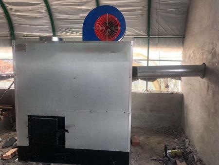 自动燃煤热风炉