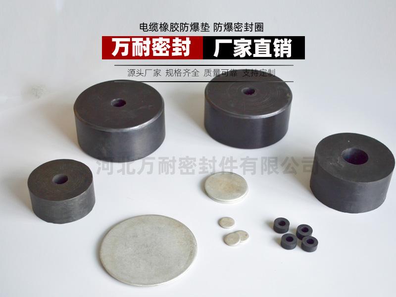 电缆橡胶防爆垫防爆密封圈