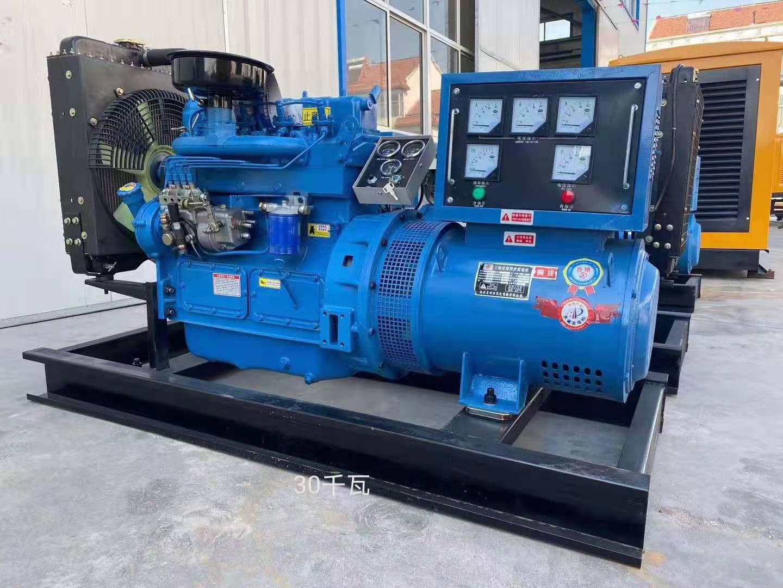 青海30kw雙燃料發電機訂制,30kw燃氣發電機型號