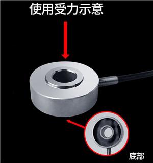 DM型螺栓压力传感器