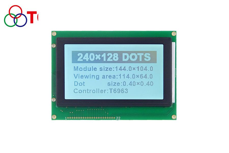 5.1寸仪器仪表COB模块6963芯片LCD 240128