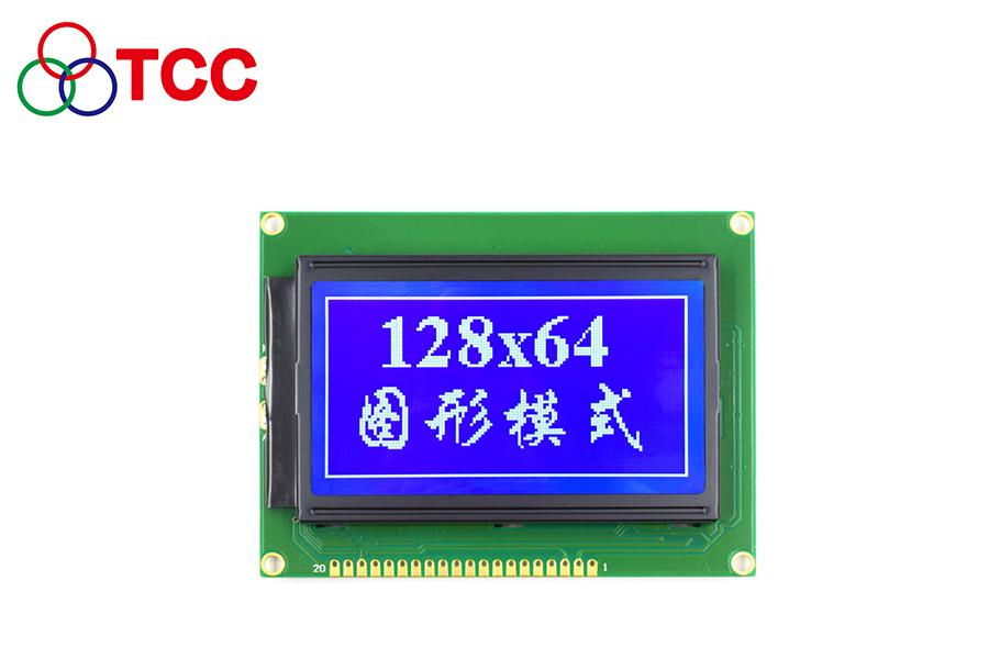 12864仪器仪表显示屏尺寸93*70mm 不带字库