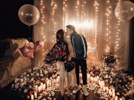 铁岭快闪求婚品牌,气球求婚价格