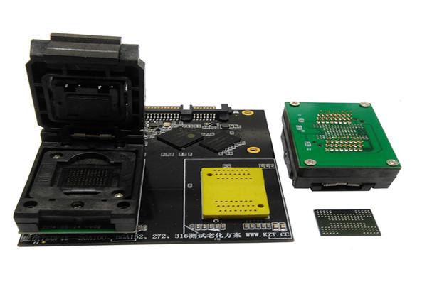 BGA152/132/88136测试座老化座带板