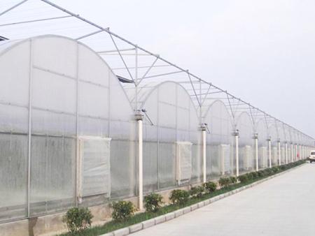 山西連棟溫室工程安裝方法