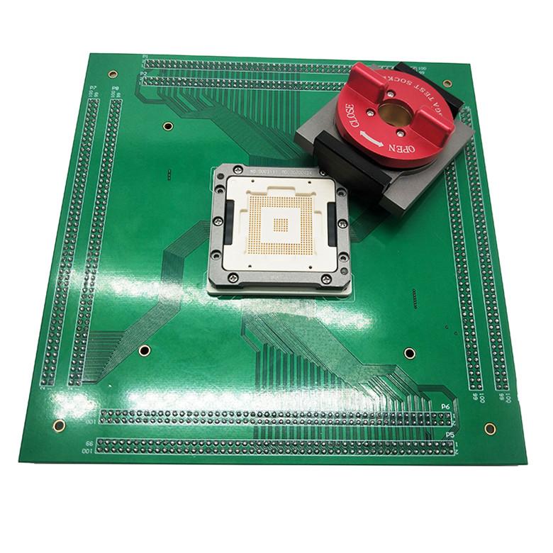 芯片测试夹具