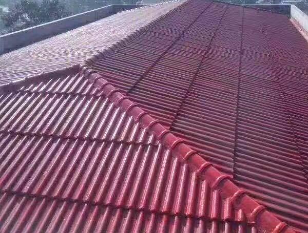 聊城屋顶水泥彩瓦厂商