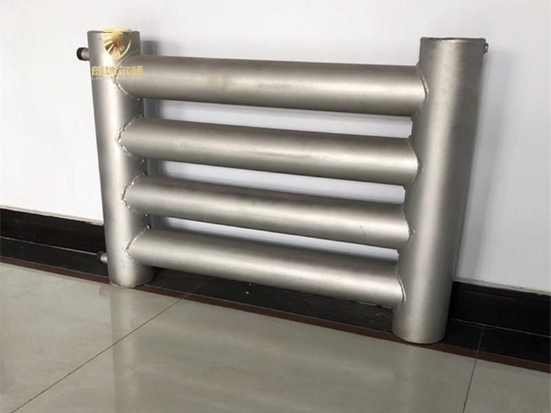 光面管散热器A型和B型-光管式散热器原理-光管式散热器参数