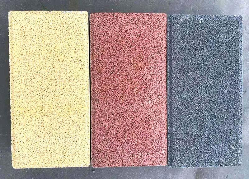 山东德州生态透水砖厂家 欧韵彩色水泥透水砖批发