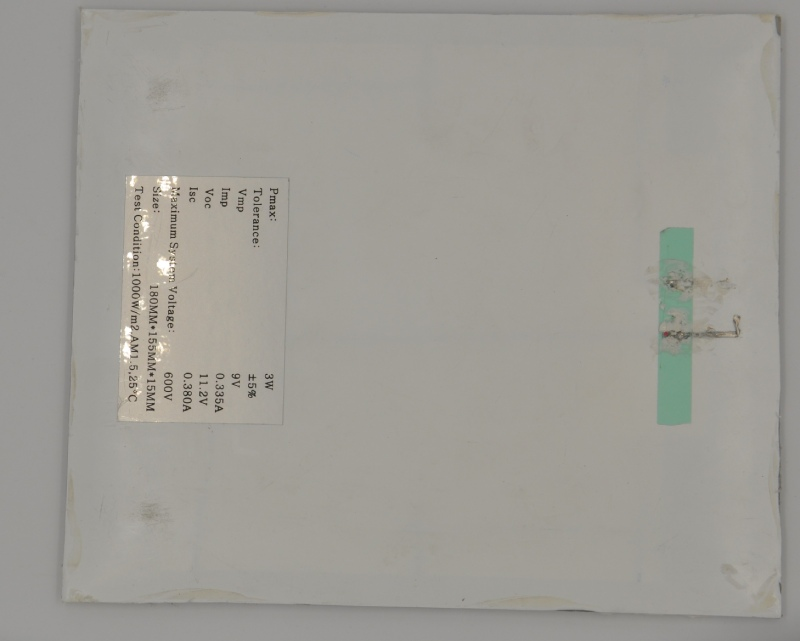 广州9V3W太阳能板单价