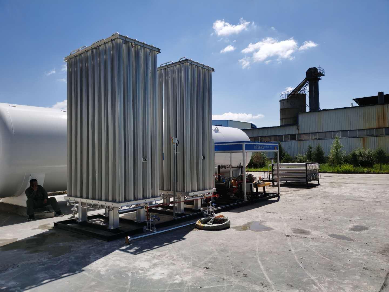 生产LNG空温式汽化器-邢台市新品LNG气化器出售