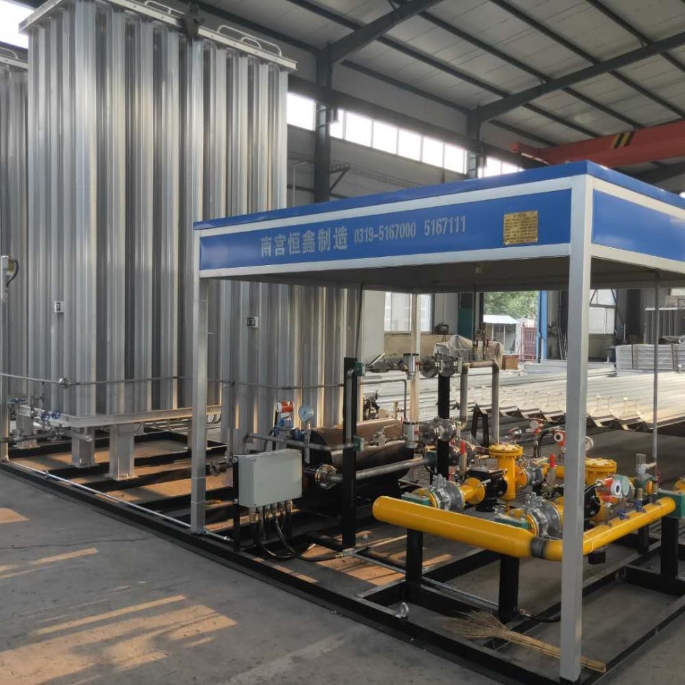 天然气气化调压撬报价-恒鑫气体设备批发LNG气化调压撬