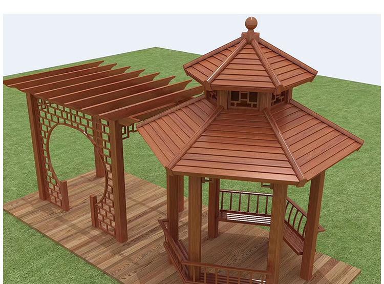 广东中式凉亭设计