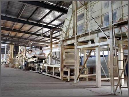 密度板生产线
