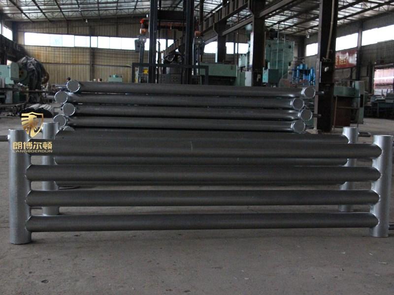 蒸汽光排管散热器-热水 光面管排管散热器