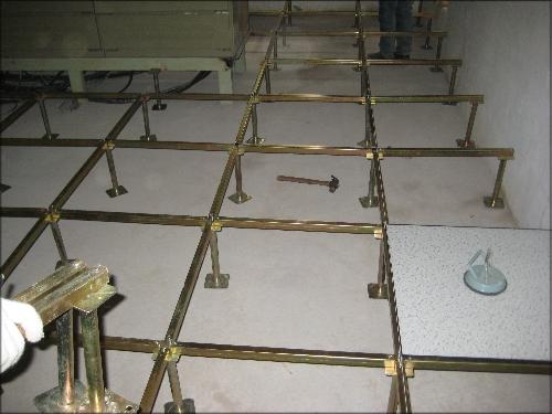 東營硫酸鈣防靜電地板結構多少錢