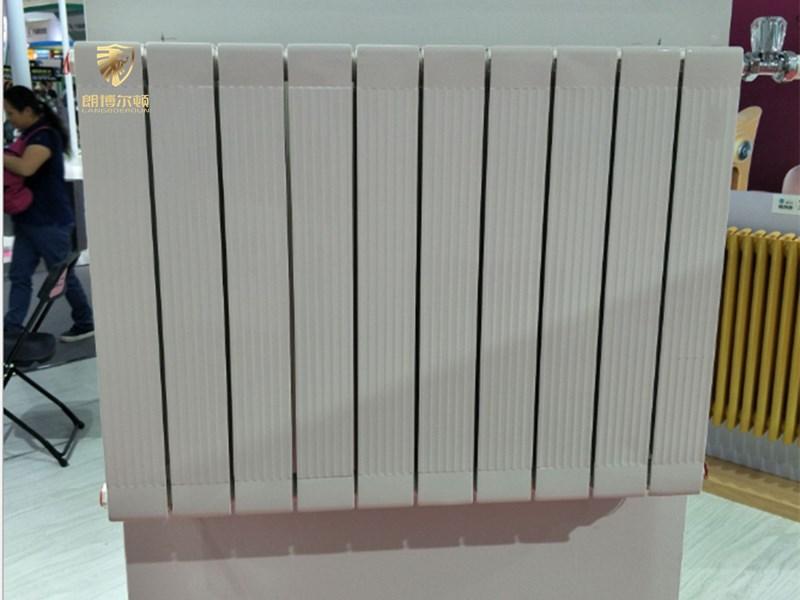 钢制椭圆管钢铝散热器-GLZY75-75 钢铝复合暖气片
