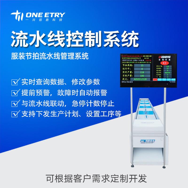 产品组装 零部件生产 服装节拍 流水线可视化电子看板管理系统