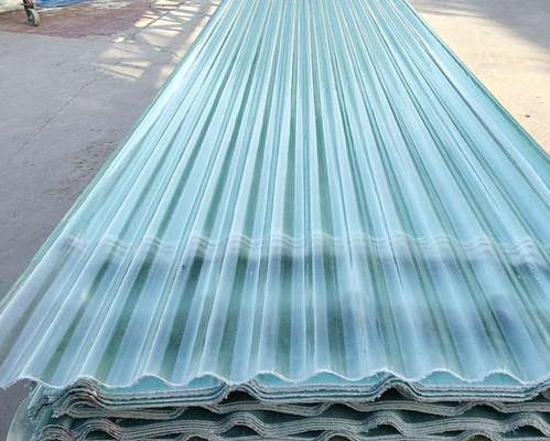 玻璃钢采光瓦 大棚顶瓦 玻璃钢透明瓦
