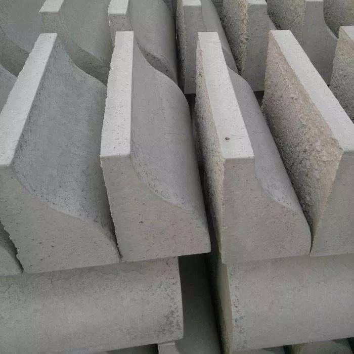 兰州道牙厂家 甘肃道牙砖 马路牙石价格
