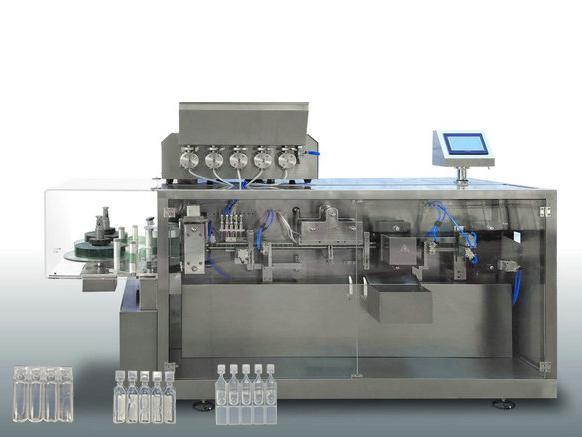 液体农药灌装机_品牌好的HT-118全自动塑料安瓿瓶成型灌封机当选海拓机械