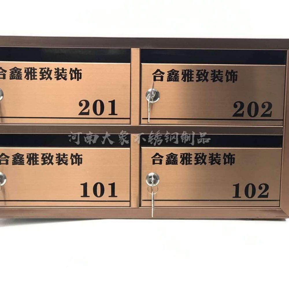 郑州信报箱 开封不锈钢信报箱 新乡室外雨棚信报箱