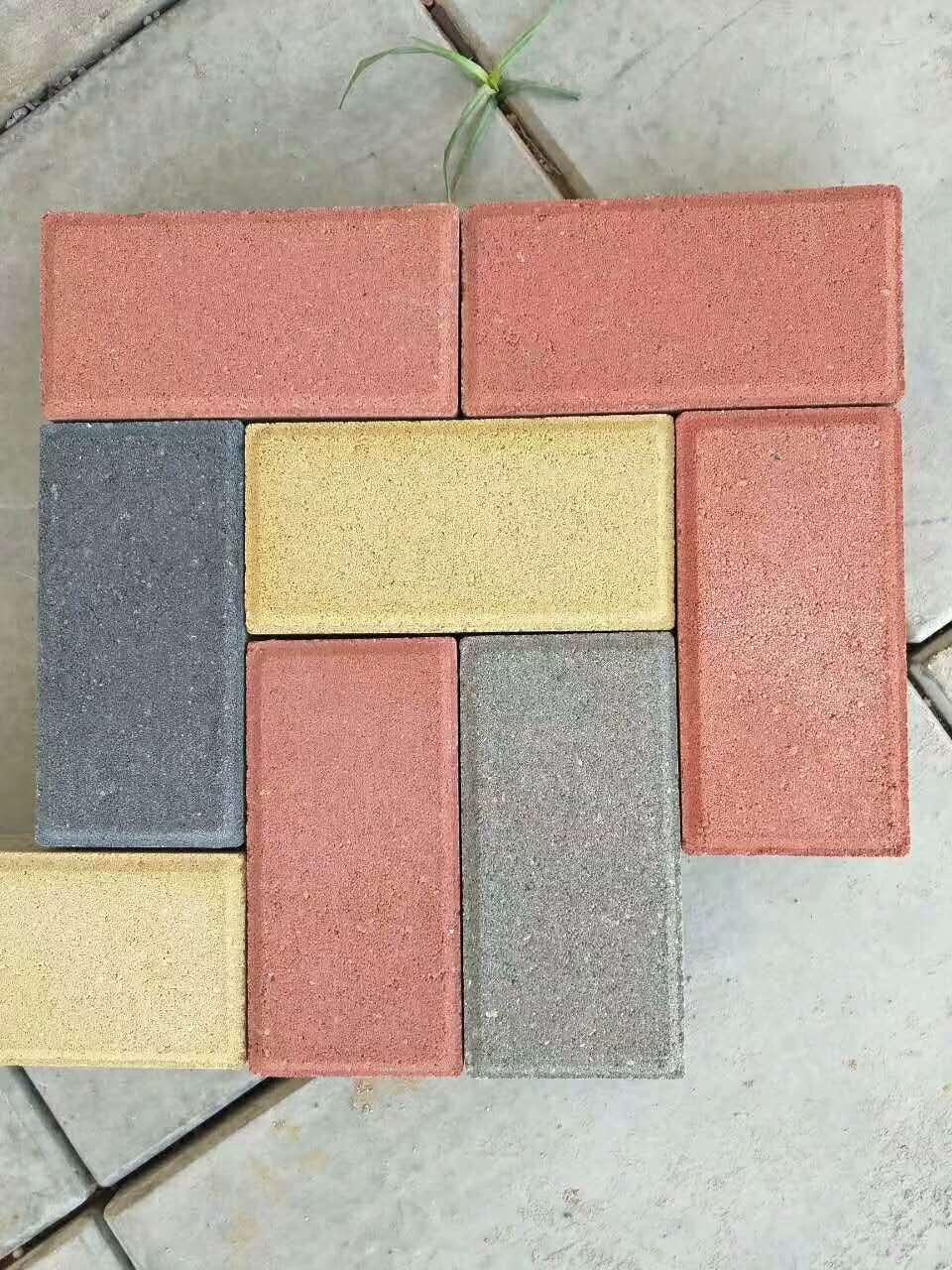 彩色透水砖-透水砖价格-河南透水砖厂家
