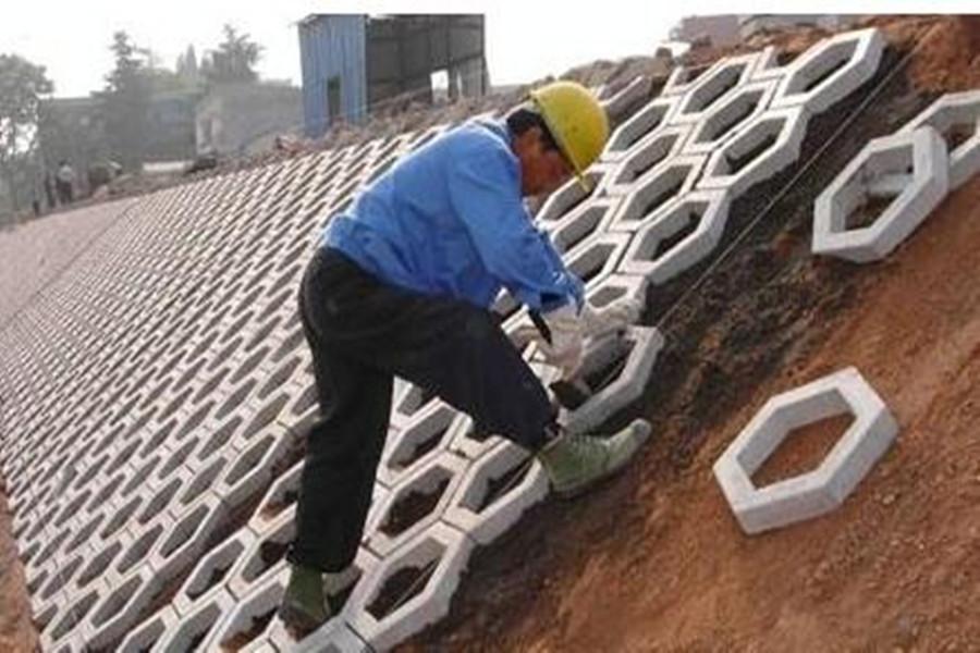 河渠护坡砖-水泥护坡砖-生态护坡砖