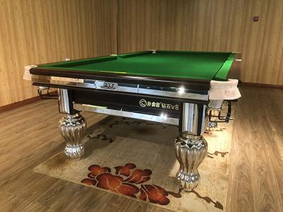 甘南水晶台球桌专卖,台球桌生产厂家