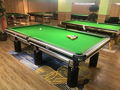 酒泉台球桌家用,美式台球桌安装