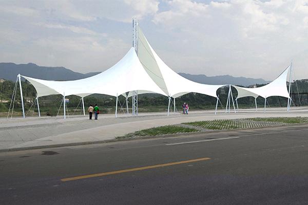 济源张拉膜结构遮阳棚制造厂家