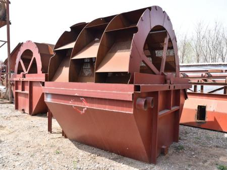 轮式洗沙机的产品介绍以及工作原理