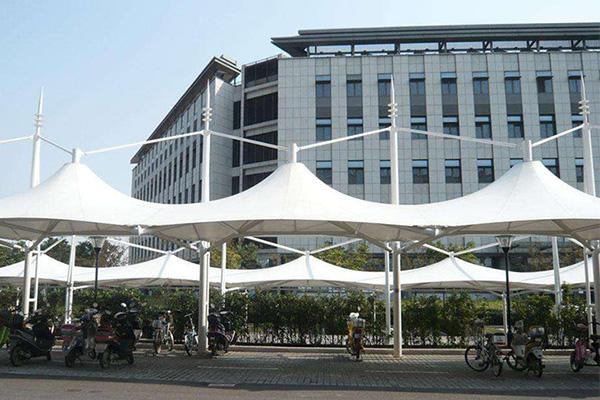 郑州雨棚膜结构厂家 雨棚膜结构价格