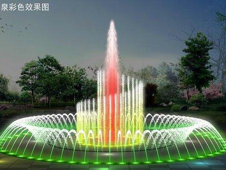河南音乐喷泉施工厂家 安阳音乐喷泉安装报价