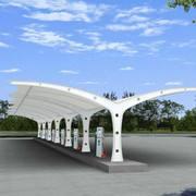 信阳膜结构汽车棚价格