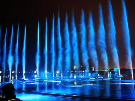 济源旱式喷泉安装费用 河南旱式喷泉工程施工