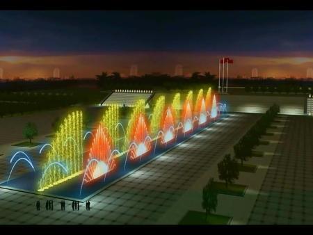 河南激光投影喷泉安装 南阳激光投影喷泉施工费用