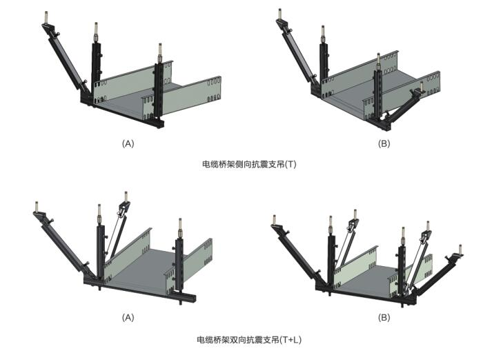 宁波黄湖监狱迁建抗震支架-图纸标点抗震支架-通风消声器