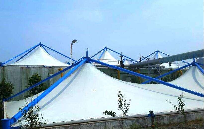 青岛反吊膜污水池加盖供应