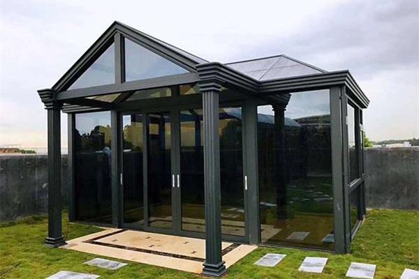 铝合金阳光房隔音隔热中式欧式阳台花园阳光房厂家定制