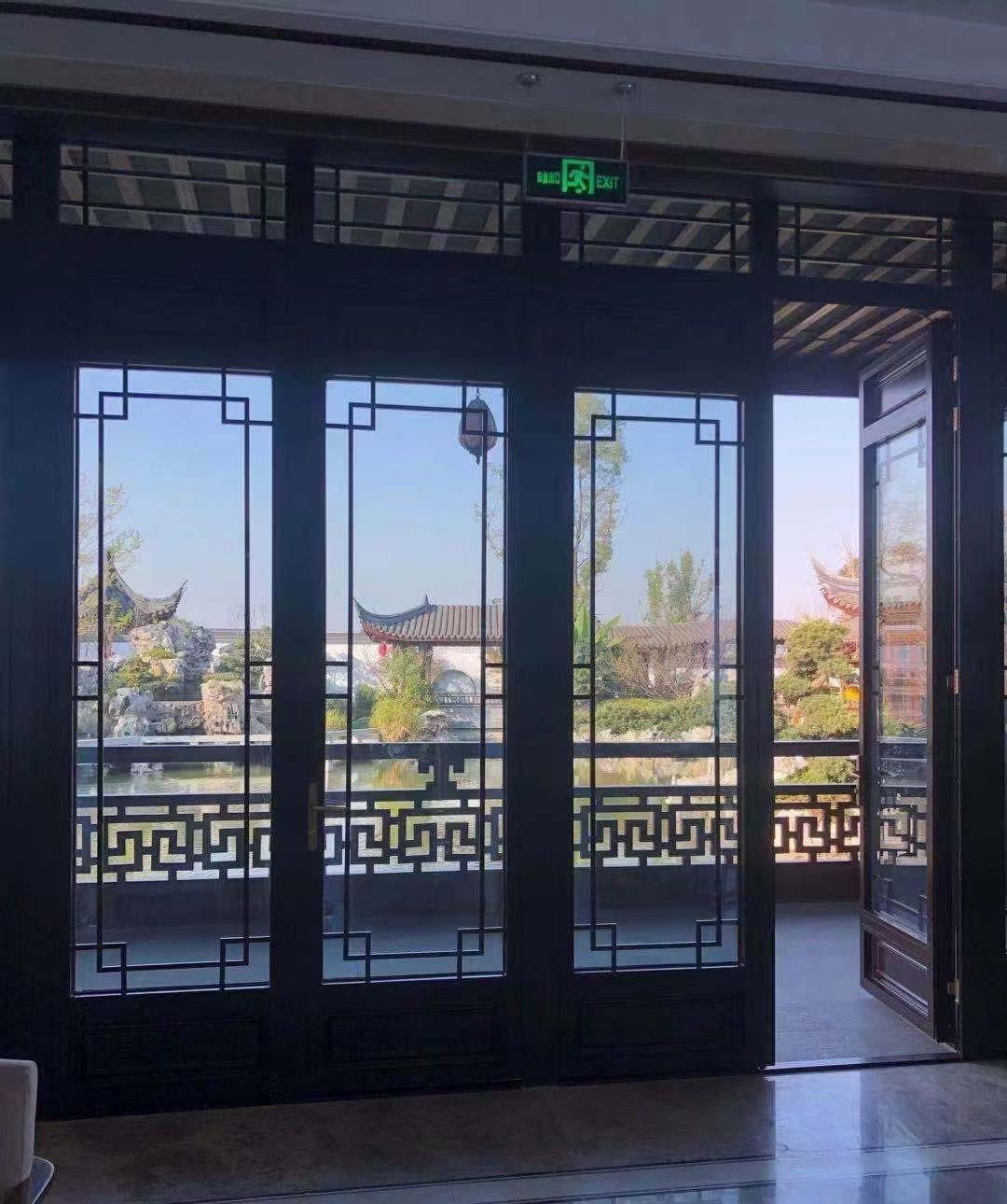铝合金仿古窗中式隔音隔热保温招商加盟代理经销商生产厂家私人定