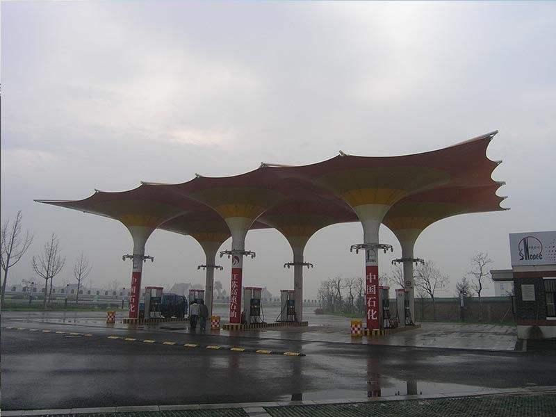 青岛封闭式膜结构加油站哪里有