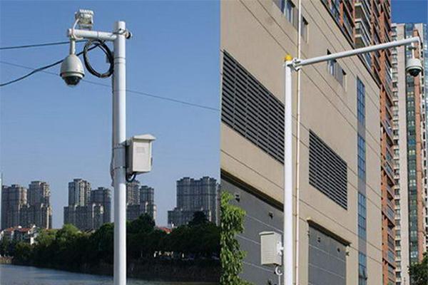 安陽學校監控桿廠家電話,小區監控桿定制