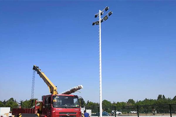 平頂山LED高桿燈安裝,機場led高桿燈安裝