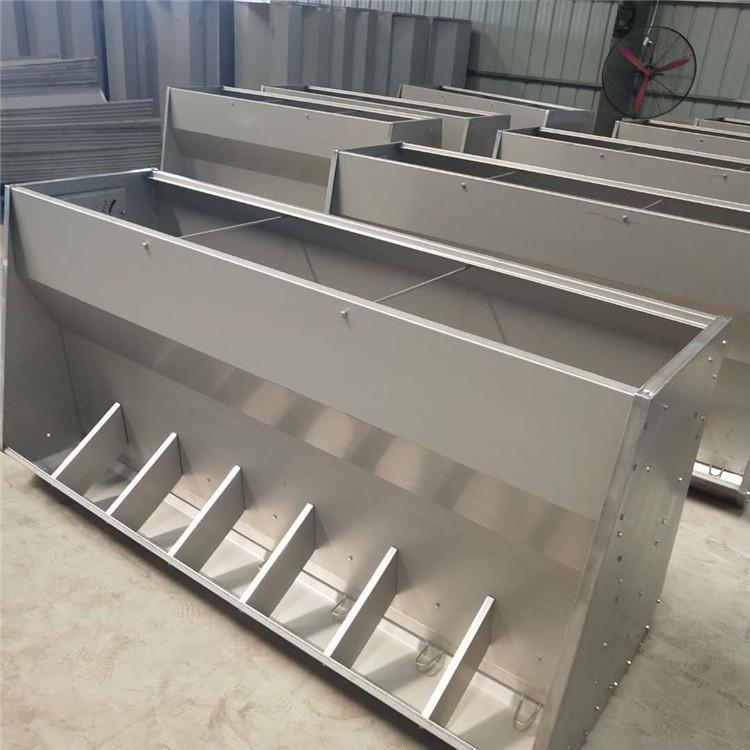 辽宁长型不锈钢猪食槽供应商