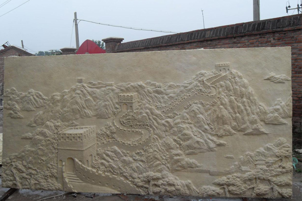 济宁仿古铜浮雕背景墙制作
