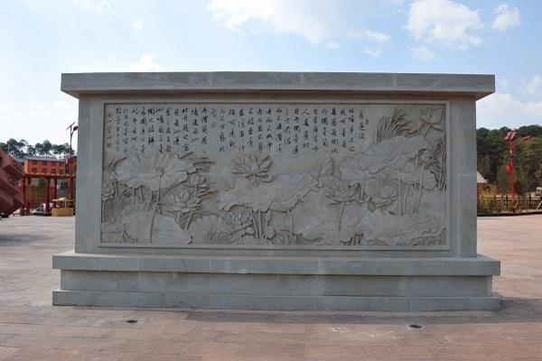 烟台青铜浮雕影壁墙订做