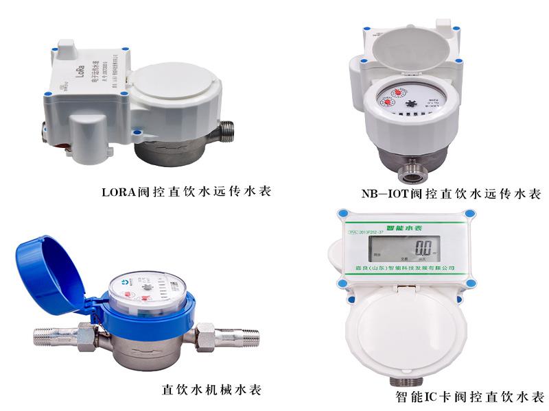 江蘇小區直飲水ic卡水表工廠,小區直飲水電子水表定做
