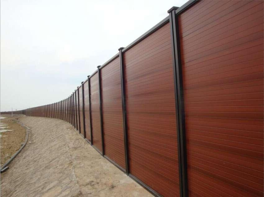中山组合式木塑围挡供货商,组合式木塑围挡价格